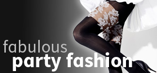 Party fashion at Tights And More