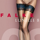 41534 Lunelle 8 Peacock ultra-sheer hold-ups