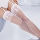 Princessa Calze 10 floral band stockings