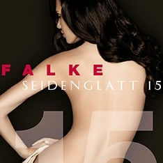 Falke 40493 Seidenglatt 15 denier transparent shining tights - - New Sizing
