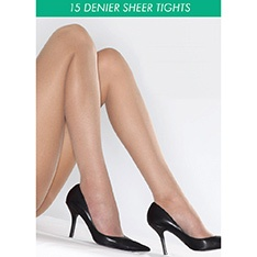 15 denier everyday sheer tights