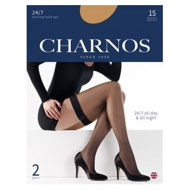 Charnos 24/7 hold-ups - 2 pair pack