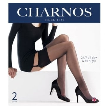 Charnos 24/7 stockings - 2 pair pack