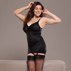 30003 Harlow open bottom corselet