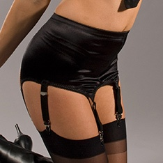 3184 lightweight 6-strap pull-on suspender belt