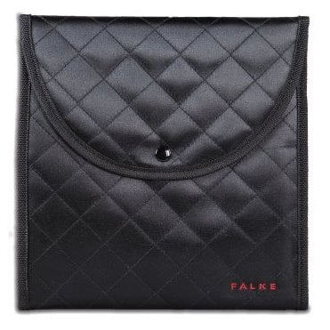 Falke 40010 luxury satin hosiery wallet with stud fastening