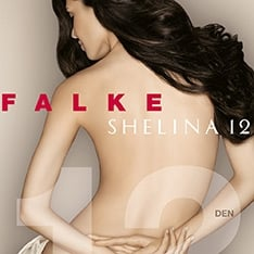 40027 Shelina 12 denier transparent shimmer tights - new sizing