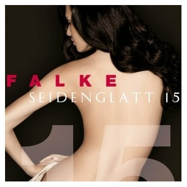 Falke 40493 Seidenglatt 15 denier transparent shining tights - New Sizing