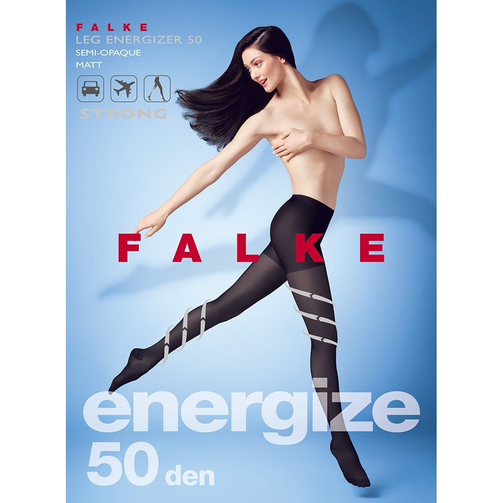 Falke 40585 Leg Energizer 50 denier strong support tights - Special Offer!