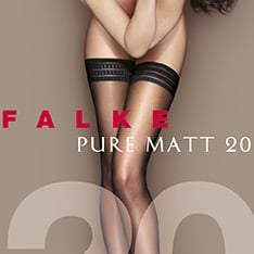 41513 Pure Matt 20 denier transparent matt hold-ups