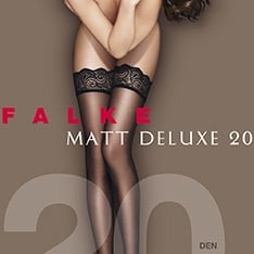 41520 Matt Deluxe 20 denier transparent matt hold-ups