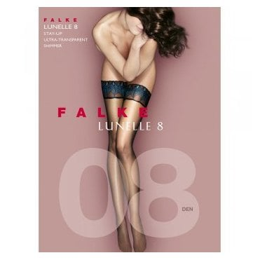 Falke 41534 Lunelle 8 Peacock ultra-sheer hold-ups