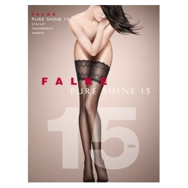 Falke 41545 Pure Shine 15 denier transparent shining hold-ups