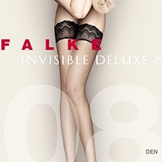 41560 Invisible Deluxe 8 denier ultra-transparent hold-ups