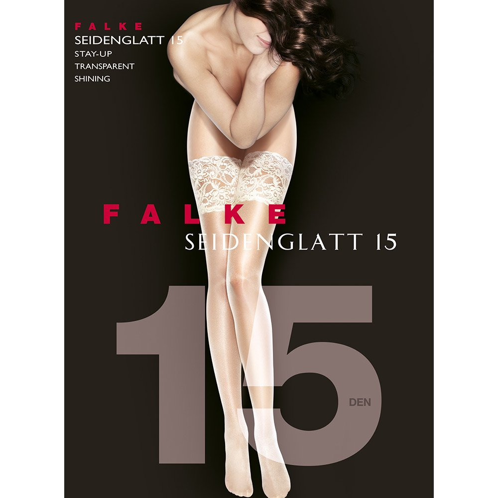 Falke 41584 Seidenglatt 15 deep French lace hold-ups