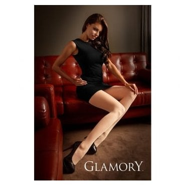 Glamory 50122 Satin 20 sheer plus size tights