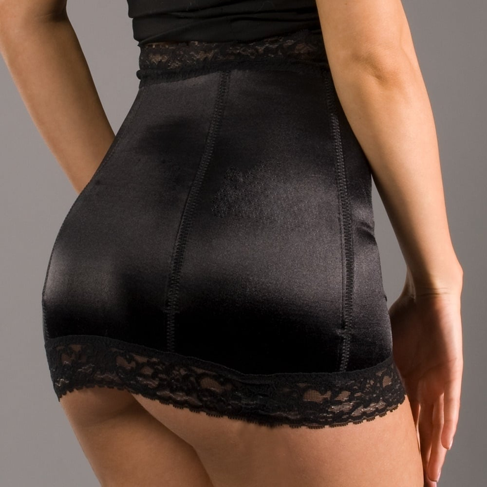 Rago 826 satin waist cincher - SAVE 35%!