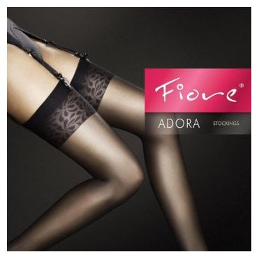 Fiore Adora 8 denier ultra-sheer stockings