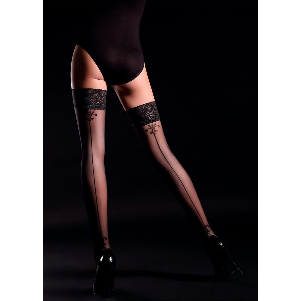 Giulia Allure model 4 backseam hold-ups