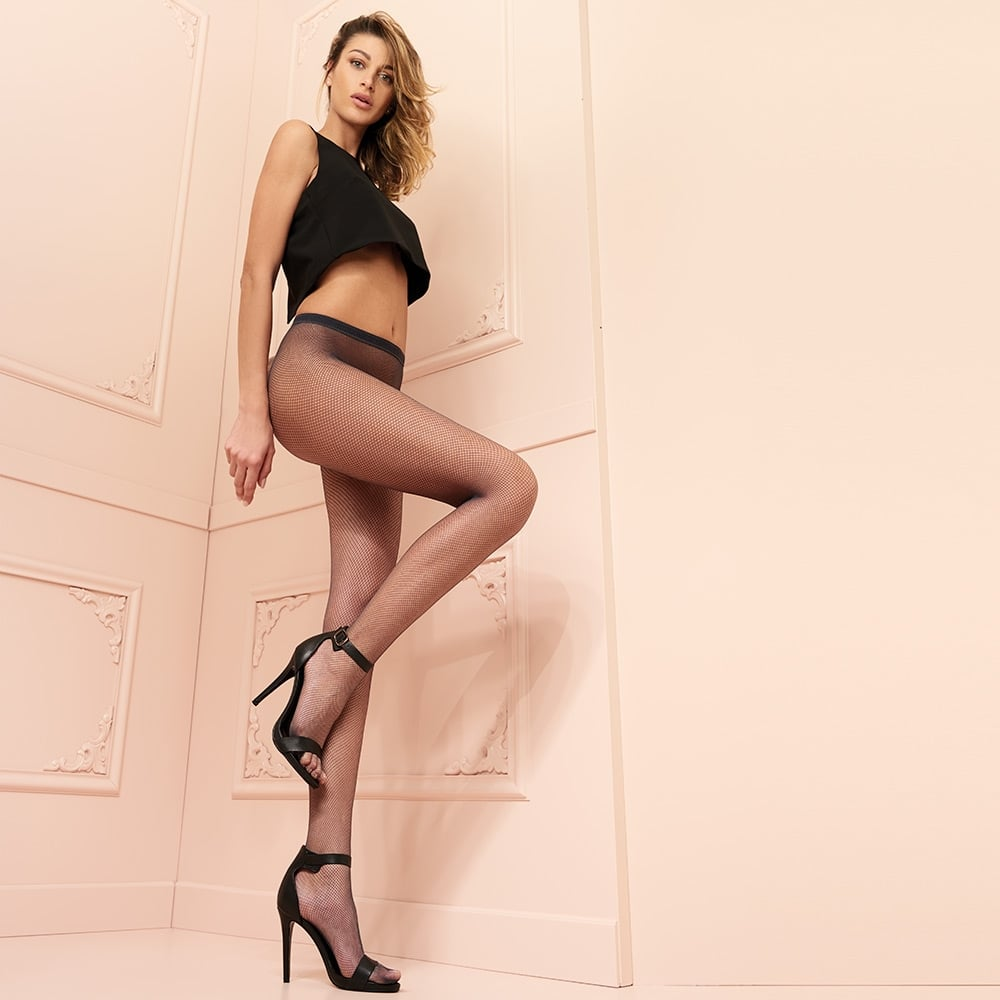 Trasparenze Ambra fishnet tights