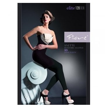 Fiore Anette microfibre 3D footless tights