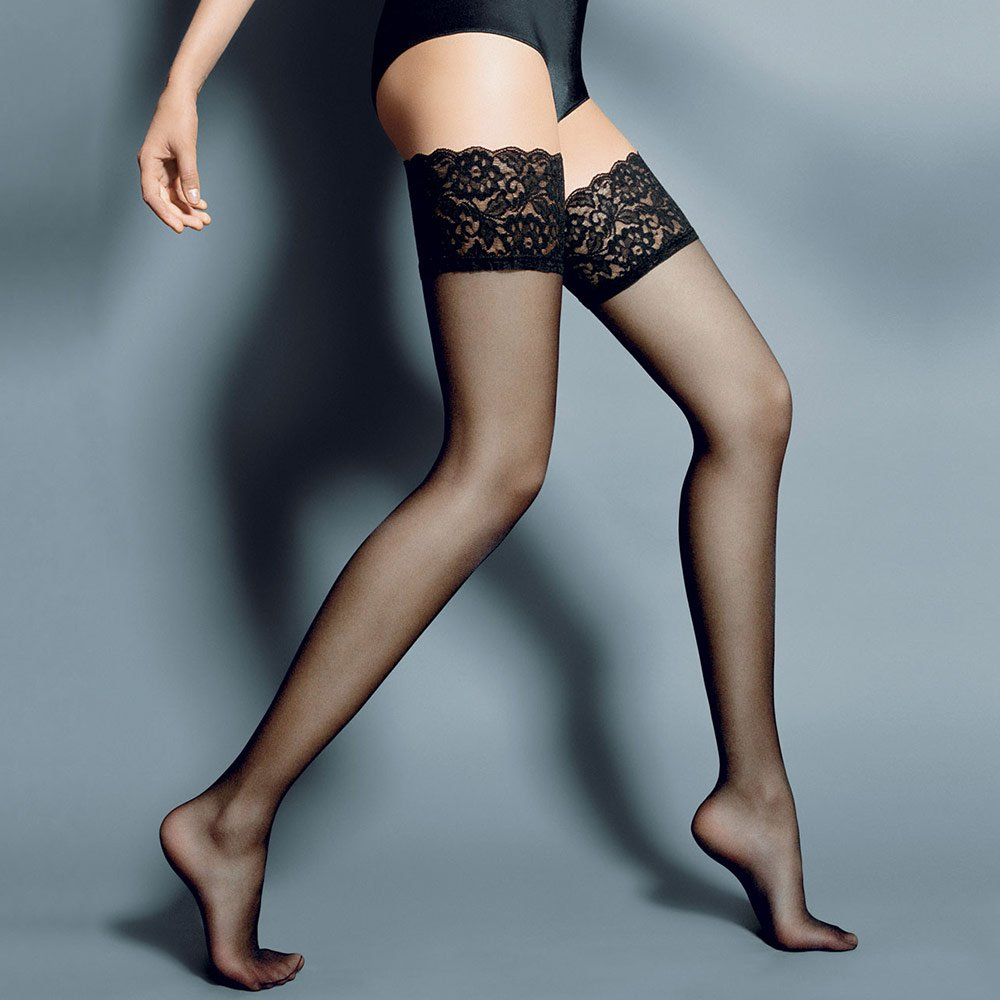 Veneziana Beautiful lace top hold-ups