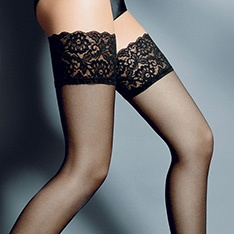 Beautiful lace top hold-ups