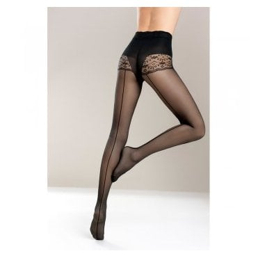 Mona Bikini Support Riga seamed tights