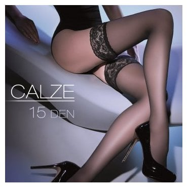 Gabriella Calze 15 lace top hold-ups