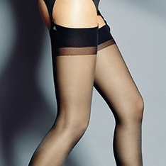 Calze 15 sheer stockings with soft band