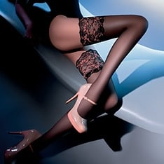 Calze Elite luxury lace top hold-ups