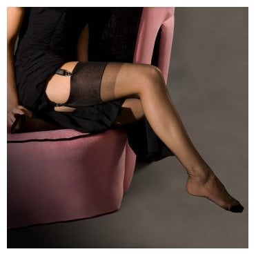 Eleganti Caresse slingback sheer heel 100% nylon stockings - PERFECTS