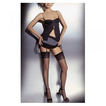 Girardi Chantal Girardi Signature logo stockings