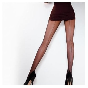 Giulia Chic 20 bikini seamed tights