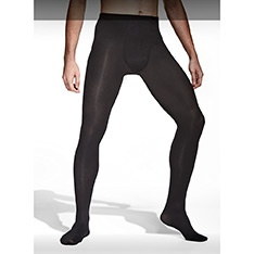 City opaque male tights