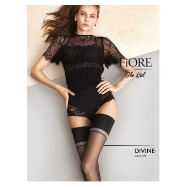Fiore Divine contrast band hold-ups