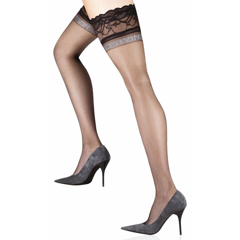 Cervin Divine signature lace top hold-ups
