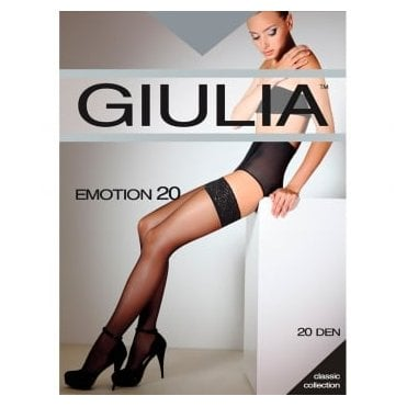 Giulia Emotion 20 lace top hold-ups