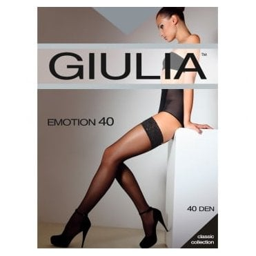Giulia Emotion 40 lace top hold-ups