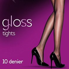 Everyday Plus 10 denier gloss tights