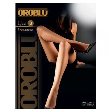 Oroblu Geo 8 Freshness ultra-sheer tights - SAVE 15%