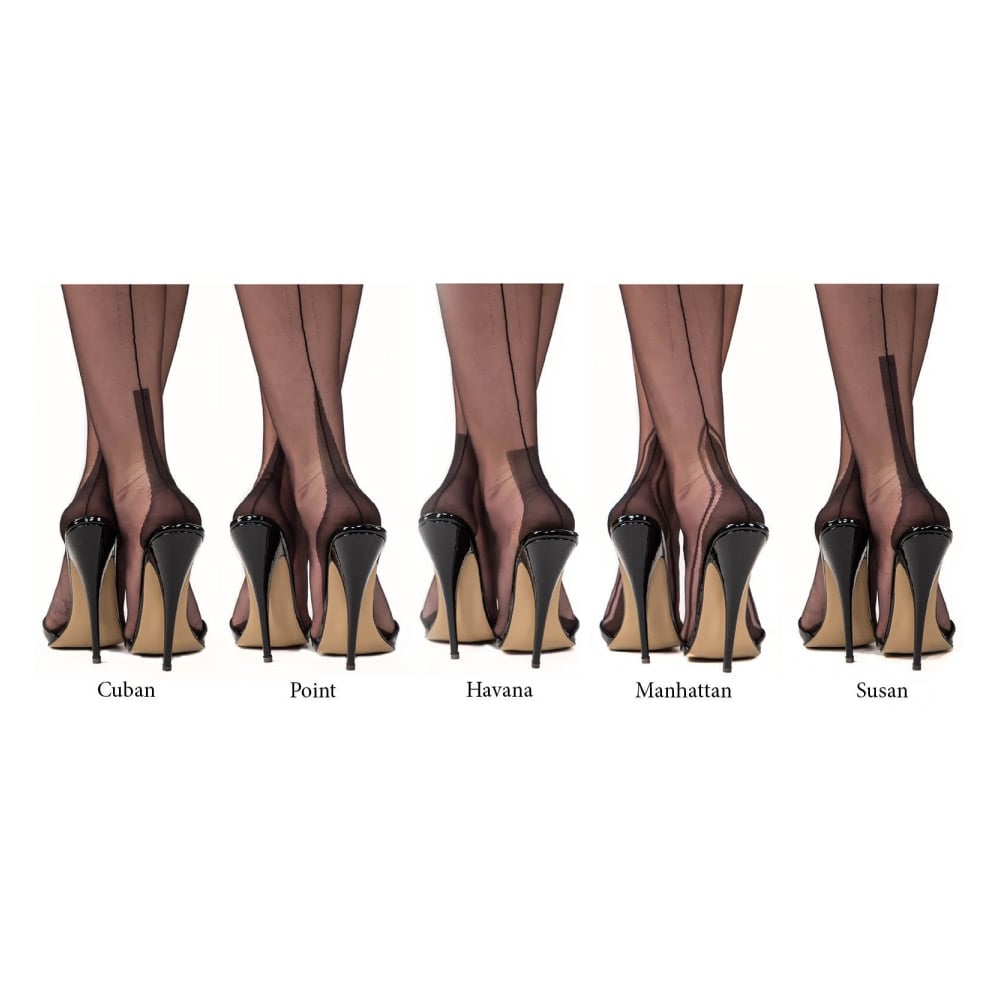 aae3e4b578a Gio Cuban Heel Stockings At Tights And More