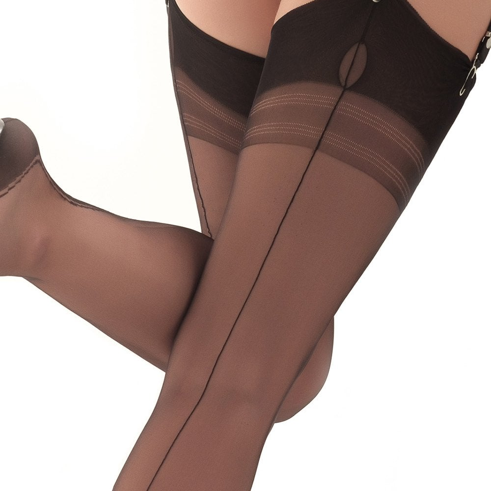 0664329f1 Harmony Point fully fashioned stockings - XXXL - size 12.5
