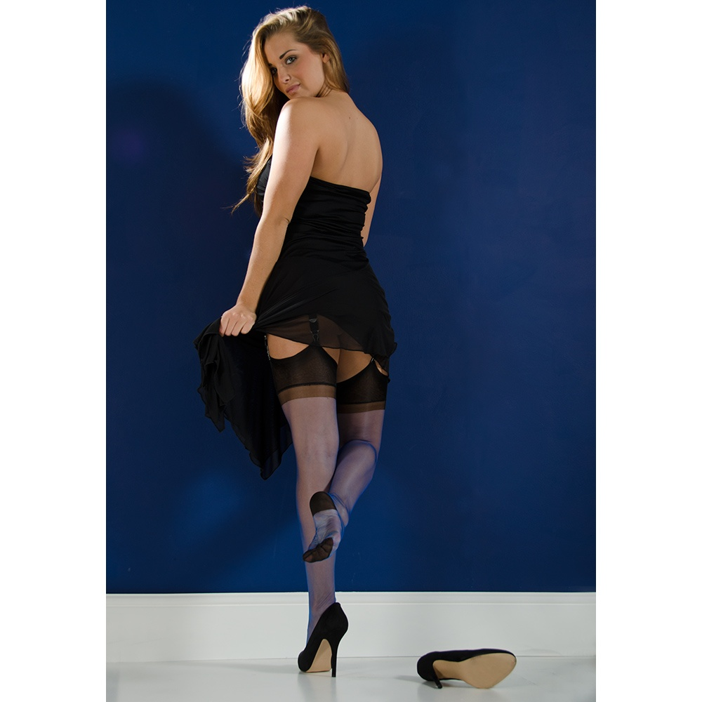 4e51eb3a1aa Gio Full Contrast RHT stockings At Tights And More