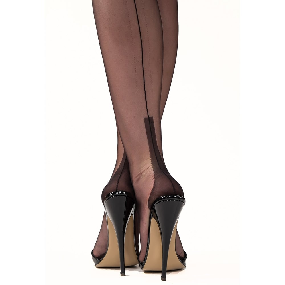c213461d4 Gio seconds - XXL Susan heel fully fashioned stockings at Tights and ...