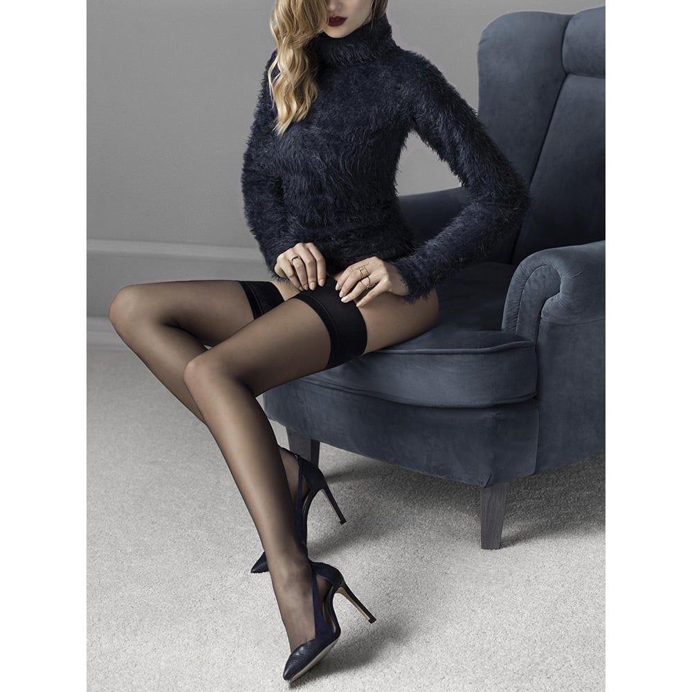 Fiore Glam plain top hold-ups