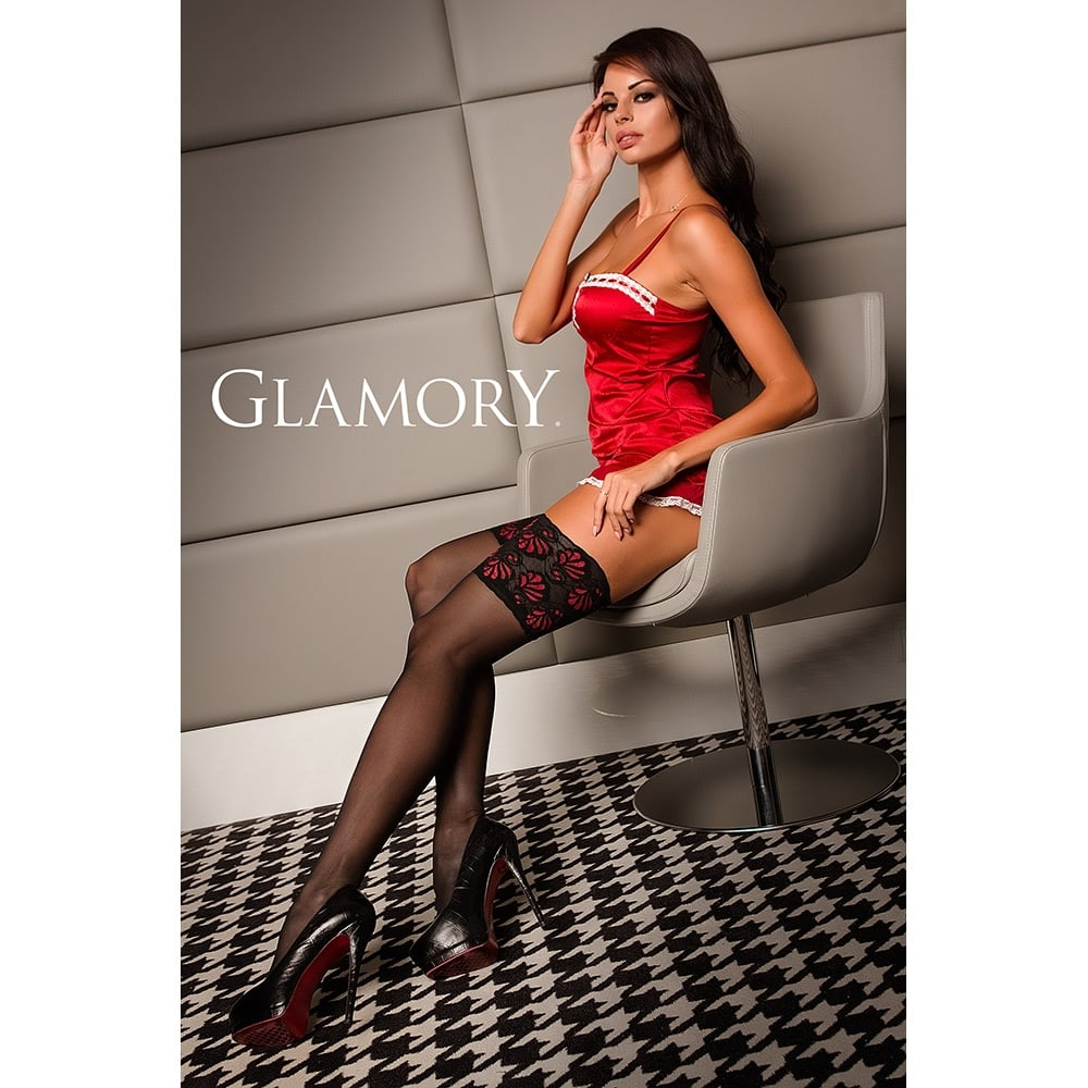 53bdb8e0038 Glamory 50111 Deluxe Hold-Ups At Tights And More