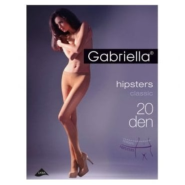 Gabriella Hipsters 20 denier low rise tights