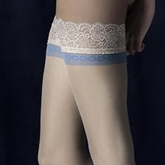 Innocent blue band hold-ups