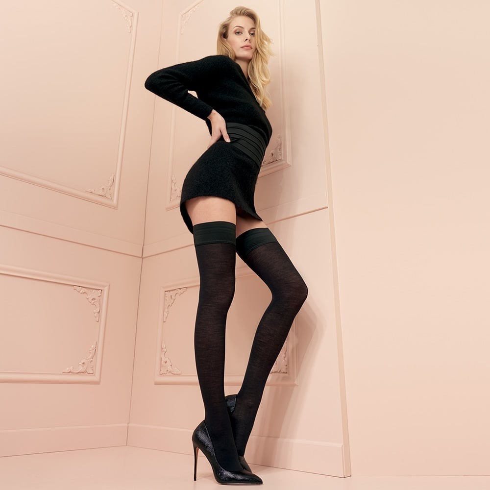 Trasparenze Jennifer 100 denier merino wool hold-ups
